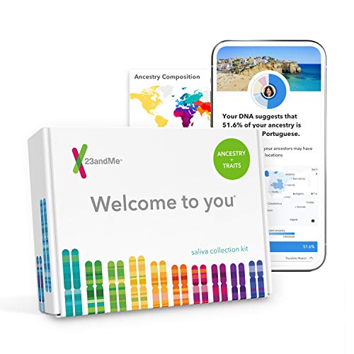 23andMe DNA Test: Ancestry + Traits Personal Genetic Service with 1,500+ Geographic Regions, DNA Relative Finder (Opt-in) & Automatic Family Tree (Grandparents Day Cards For Kids To Make)