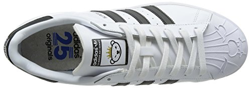 adidas Originals Unisex-Erwachsene Superstar Nigo Bearfoot Low-Top Weiß (Ftwr White/Core Black/Ftwr White)
