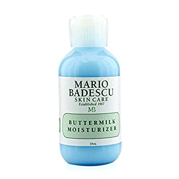 Mario Badescu - Buttermilk Moisturizer 40003 - 59ml/2oz Braun Face 80M - Variety Brush Refills for Braun Mini-Facial Electric Hair Removal Epilator with Facial Cleansing Brush for Women , 4 Count