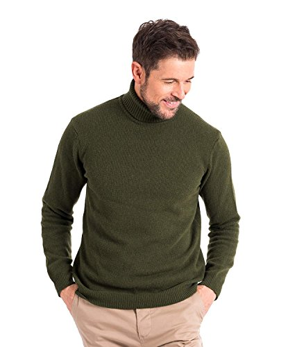 Neck Lambswool Sweater - 5