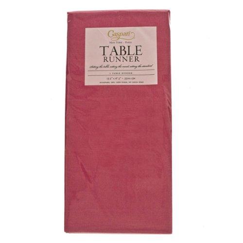 Camino de mesa desechables - 35 cm x 5 m, Moire Fuchsia: Fizzco ...