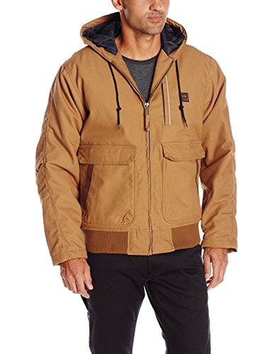Walls Men's Lancaster Blizzard Pruf Hooded Jacket, Pecan, X-Large ()