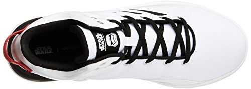adidas Cloudfoam Revival Mid Star War, Scarpe da Ginnastica Uomo, Bianco (Ftwbla/Negbas/Escarl), 47 EU