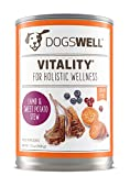 Dogswell Vitality for Dogs, Lamb & Sweet Potato Stew Recipe, 13-Ounce Cans (Pack of 12) For Sale