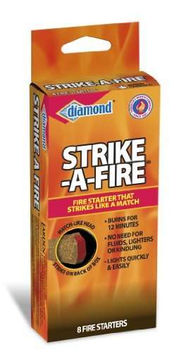 Diamond Strike-A-Fire Starters, by Pine Mountain, 96 Count by Diamond