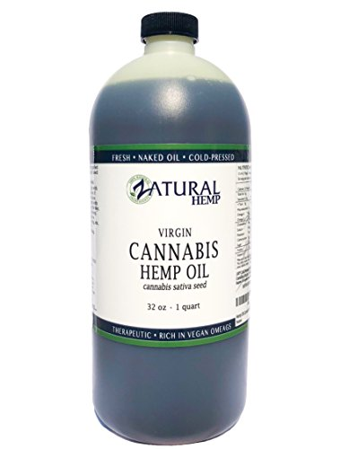 Hemp Oil- 100% Pure_No Fillers or Additives, Therapeutic Grade (NEW LOOK-SAME AMAZING PRODUCT) (32 Ounce)