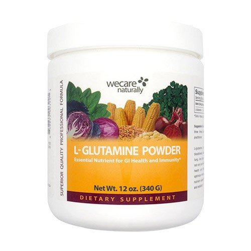 L-Glutamine Powder 12 oz , Pharmaceutical Grade, 100 pure, fermented from plant, essential nutrient for GI Health, Immunity and wound healing.
