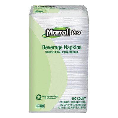 (100% Recycled Beverage Napkins (1 Pack))