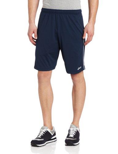 ASICS Men's Kalani Short, Navy/White, ()