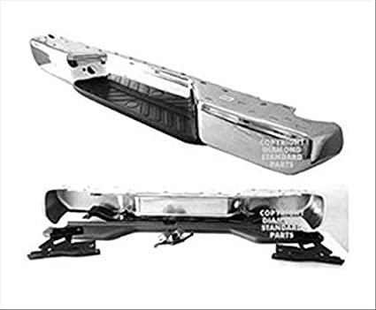Superb OE Replacement Nissan/Datsun Frontier Rear Bumper Assembly (Partslink  Number NI1103114)