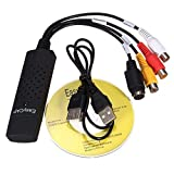 USB 2.0 Audio Capture Adapter VHS VCR TV to DVD Converter Digital Video Grabber Recorder Device for Windows PC