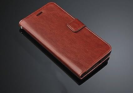 premium selection ce9d8 f8351 HOM Wallet Flip Case Cover For Xiaomi Redmi 5A - Brown