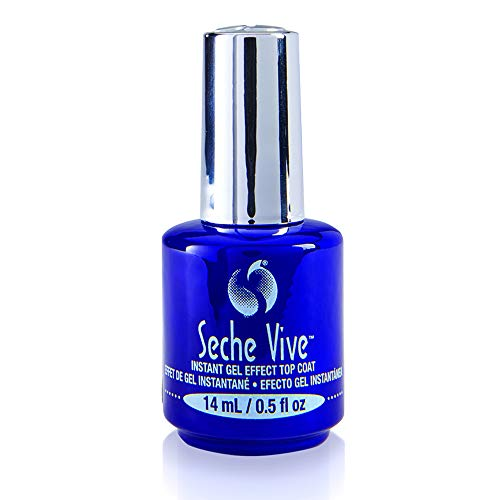 Effect Gel - Seche Vive Gel Effect Top Coat 0.5 Ounce