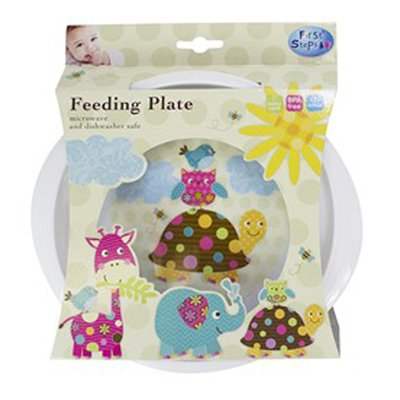 First Steps Patchwork Feeding Plate 12 mesi