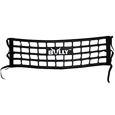 Bully TR-03WK Heavy Duty Cargo Tailgate Net for Full Size Pickup Truck Cab Truck Bed - Black Pack of 1: Automotive