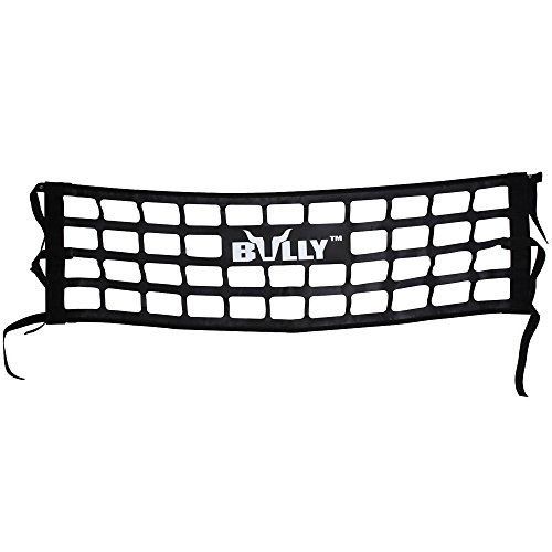 Bully TR-03WK Heavy Duty Cargo Tailgate Net for Full Size Pickup Truck Cab Truck Bed - Black Pack of 1