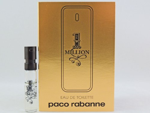 Amazon.com : PACO RABANNE 1 ONE MILLION 1.5ml .05fl oz x 1 COLOGNE ...