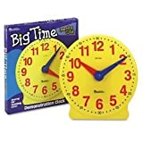 Toy / Game Learning Resources Products - Learning Resources - Big Time Learning Clocks 12-Hour Demonstration