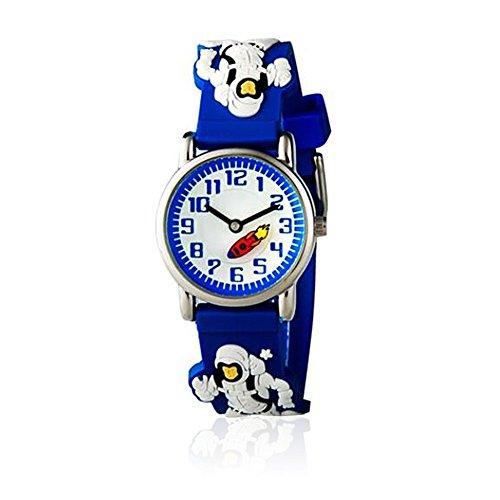 Boys Girls Sport Watches 3D Cartoon Character Student Wristwatches Time Teacher Gift