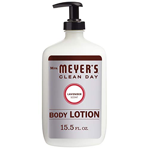 (Mrs. Meyer's Clean Day Body Lotion, Lavender Scent, 15.5 Ounce Bottle)