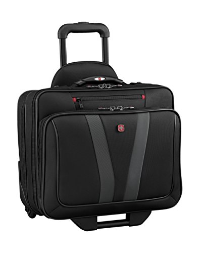 "Wenger Luggage Granada Pro 15.6"" Wheeled Laptop Case Bag, Black, One Size"