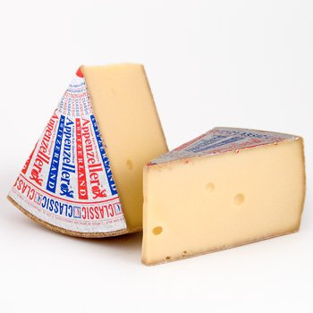 Appenzeller Classic Cheese (4Lb Cut) from Switzerland