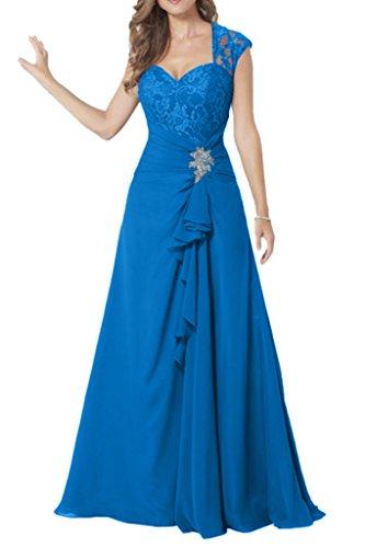 Missdressy - Vestido - plisado - para mujer turquesa