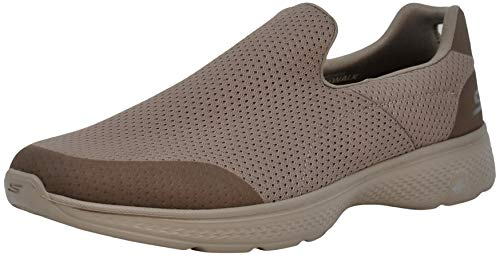 Skechers Performance Men's Go Walk 4 Incredible Walking Shoe, Stone 13 M US (Best Skechers Go Walk)