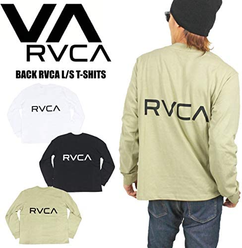 BACK RVCA 長袖Tシャツ メンズ BA041050