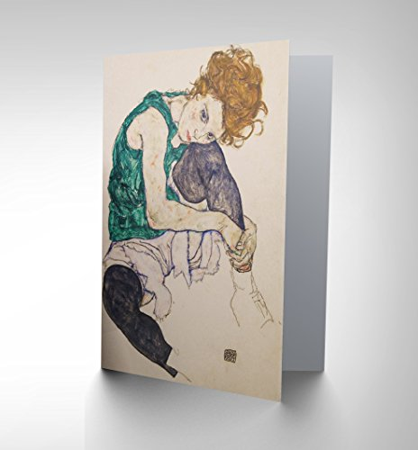 new-egon-schiele-seated-woman-legs-drawn-adele-herms-greetings-card-cp1085