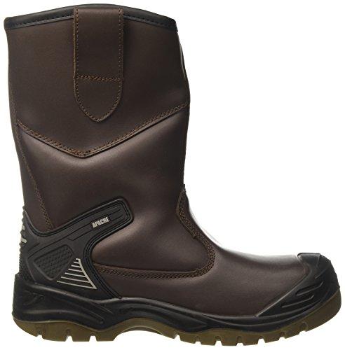 Sterling Safetywear Apache, Herren Sicherheitsstiefel Braun (Braun)