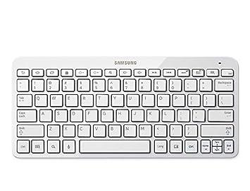 Samsung Galaxy Tab - Teclado para Tablet, Blanco: Amazon.es: Informática