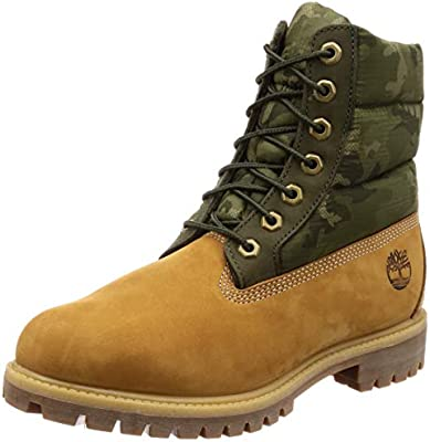 lowest price ae892 9cff0 Timberland Men Boots 6IN Premium Beige 44: Amazon.com