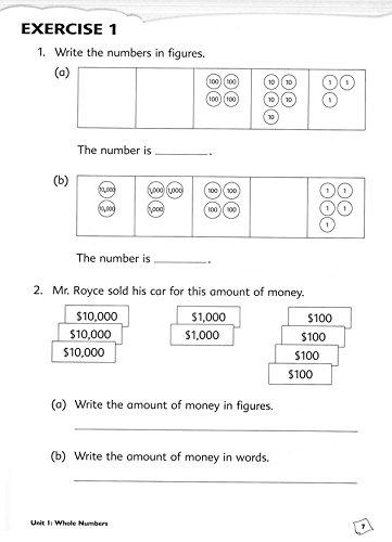 Singapore Math: Primary Math Common Core Workbook 4A: Amazon.com ...