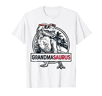 ae691c5a Image Unavailable. Image not available for. Color: Grandmasaurus T shirt ...