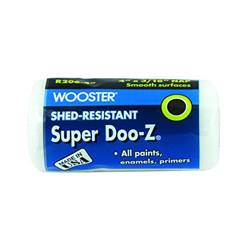 Wooster Brush R206-4 Paint Roller Cover, 4-Inch, White