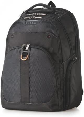 Everki Atlas Checkpoint Friendly 13-Inch to 17.3-Inch Laptop Backpack Adaptable Compartment (EKP121)