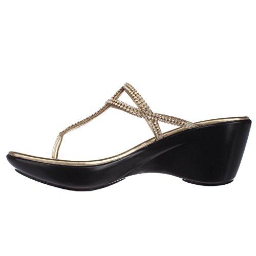 Twist dorado Sandalias de Sintético de para vestir Material mujer dorado Alexander Athena dorado Z5wW1UqPa1