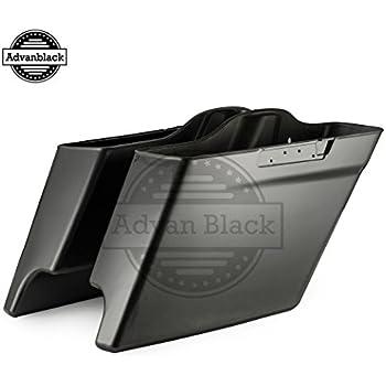 Amazon Com Advanblack Charcoal Pearl 4 5 Quot Extended Saddle