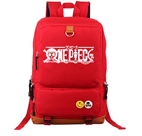 YOYOSHome One Piece Anime Cosplay Luminous Daypack Bookbag Backpack School Bag ()