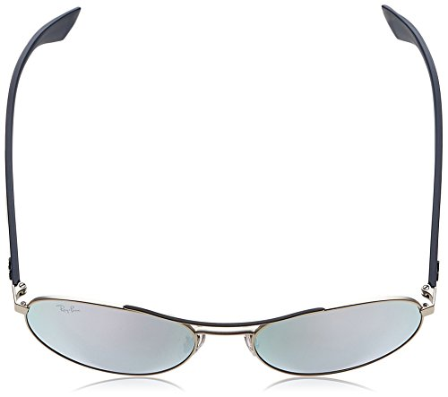 RB Silver Ray Sonnenbrille Plateado Ban Blue 3536 AAgqxZEpw