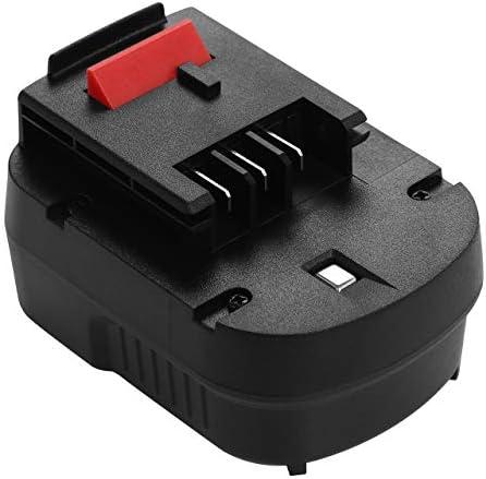 Sté Française Lot de 2 batteries 12V 3000mAh pour Black et Decker HP12K