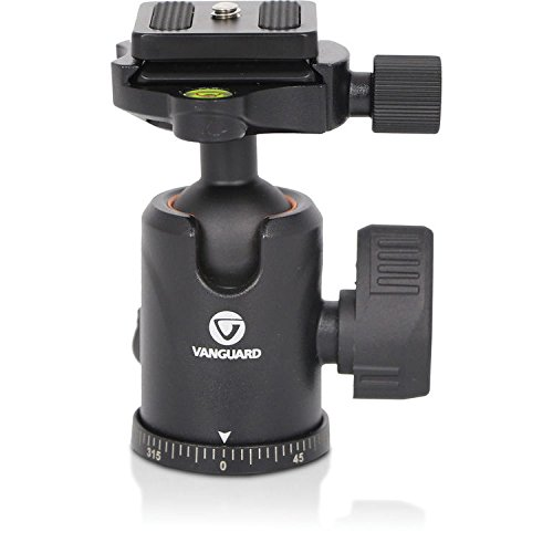 Vanguard VEO TBH-50 Aluminum Alloy Ball Head for Travel Tripods and Monopods, 13lbs Capacity by Vanguard