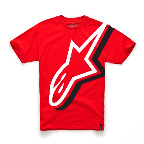 Price comparison product image Alpine Stars Duly Kids Short Sleeve T-Shirt Large Red