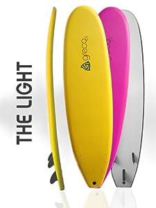 7 foot Soft Performance Surfboard Foamboard Funboard by Greco Surf