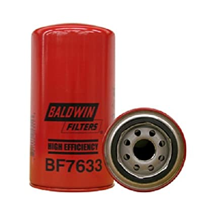 amazon com: baldwin bf7633 heavy duty diesel fuel spin-on filter: automotive