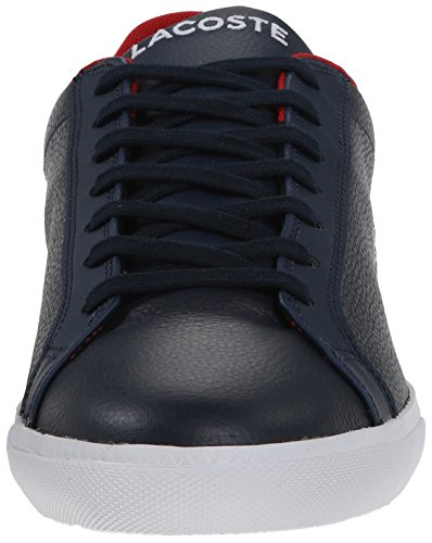 Lacoste Men's Grad Vulc Fashion Sneaker Dark Blue/Red buy cheap marketable how much cheap price outlet real online cheap online Nz8gXBVp