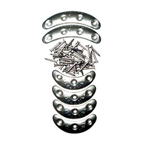 Metal kick plates; Range 6 pairs