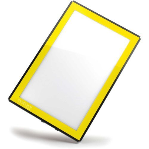 Porta-Trace LED Light Panel, Yellow Frame, 11-by-18-Inch by Gagne
