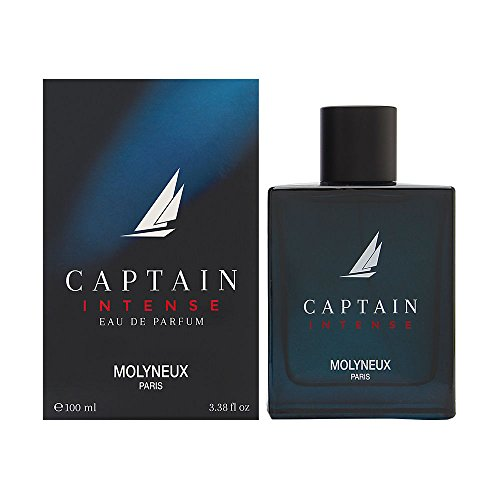 Captain Intense by Molyneux for Men 3.38 oz Eau de Parfum Spray
